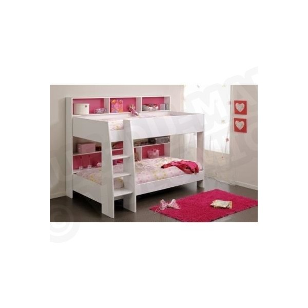 jim lit enfant superpos 90x200 avec sommiers ludi. Black Bedroom Furniture Sets. Home Design Ideas