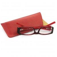 Etui à lunettes souples cuir
