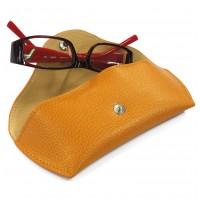 Etui à lunettes rigides cuir