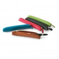 Mini étui stylo cuir