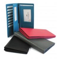 Portefeuille-documents cuir
